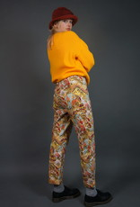 80's Summer Print Pants
