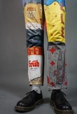 Handpainted Beer Jeans