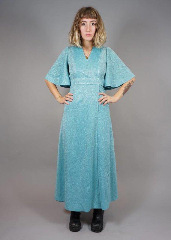 70s Glittery Maxi Dress Wanda