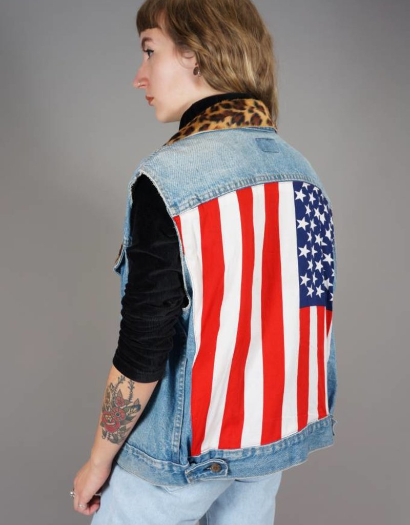 Levi's Denim Gilet USA