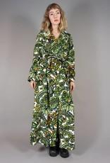 70s Flower Power Morning Robe
