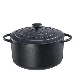 Küchenprofi Provence gietijzer pan 24 cm Zwart