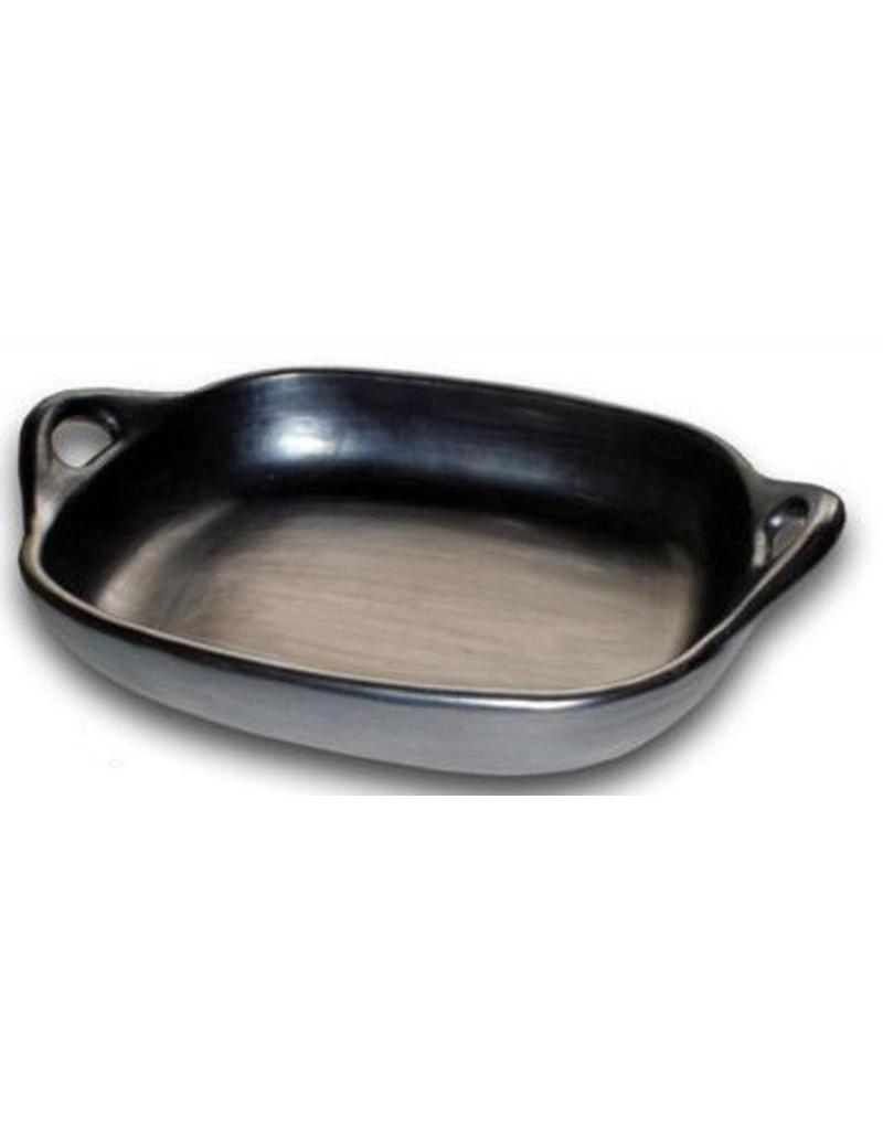 Black Pottery 29-3 Ovenschaal met greep