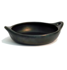 Black Pottery 40-5 Ovenschaal rond