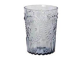 Van Verre Portugees glas klein Grijs Fleur de Lys