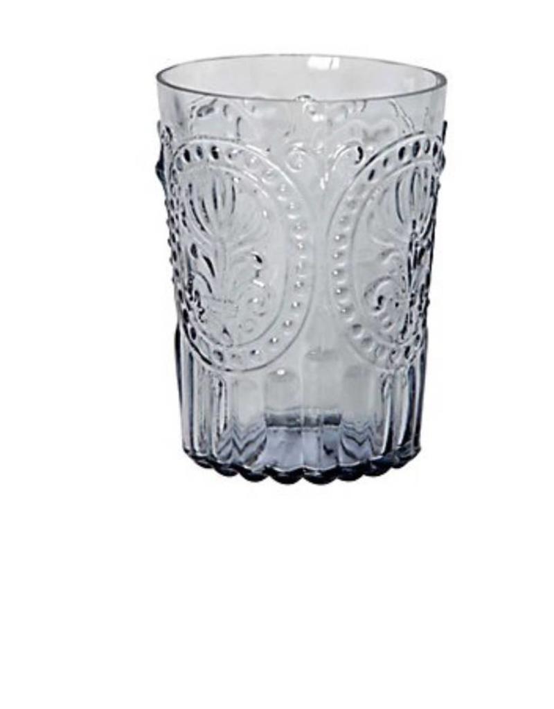 Van Verre Portugees glas groot Grijs Fleur de Lys