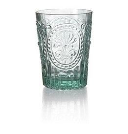 Van Verre Portugees glas groot Blauw Fleur de Lys