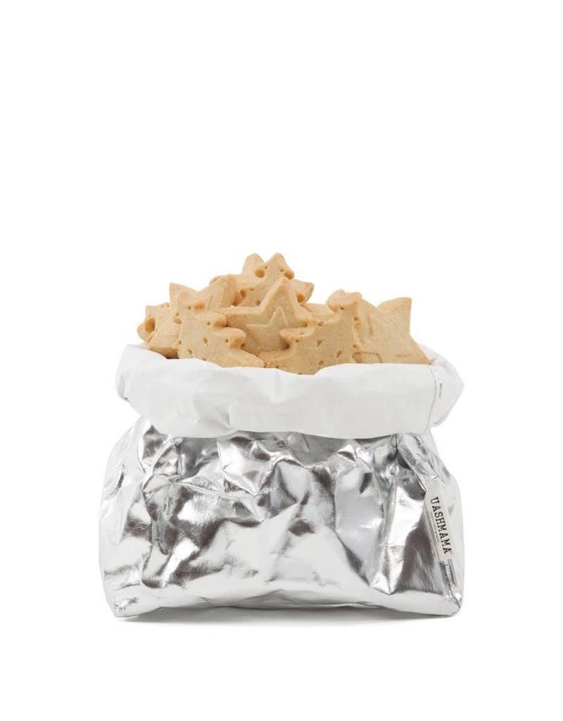 Uashmama Paperbag L Zilver