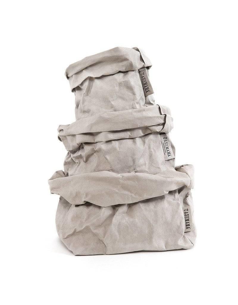 Uashmama Uashmama Paperbag L+ Grijs