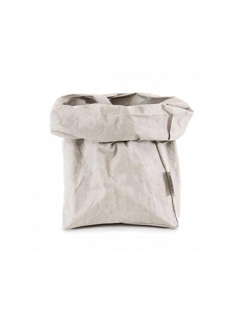 Uashmama Paperbag XL Grijs