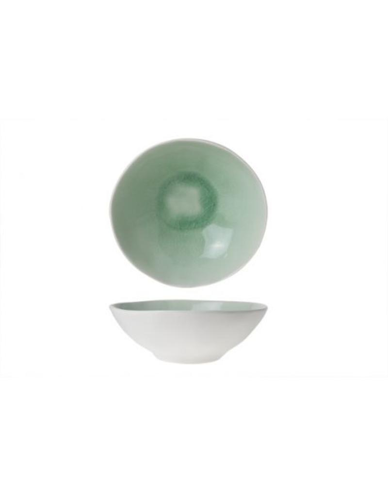 Cosy & Trendy Spirit Green diep bord 19.5x6.5
