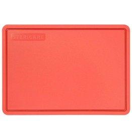 Stericare Antibacteriële snijplank Rood 355x250x15 mm