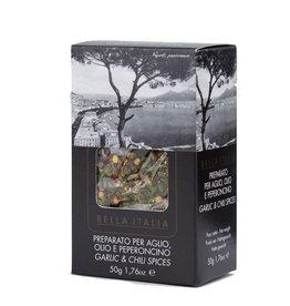 Food Delicious Aglio olio e peperoncino mix