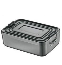 Küchenprofi Lunchbox Antraciet 23x15x7