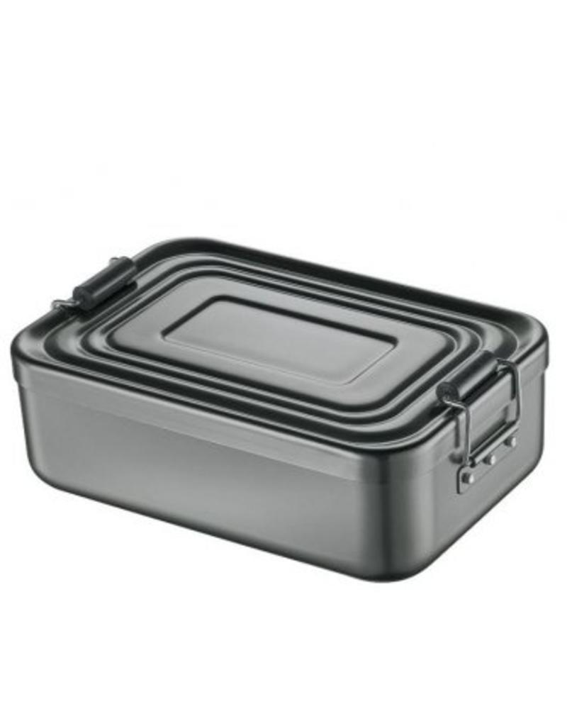 Küchenprofi Lunchbox Aluminium Antraciet 23x15x7