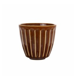 HK Living Mug of Kyoto brown striped