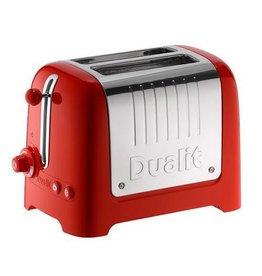 Dualit DUALIT Lite Toaster 2 slots Rood