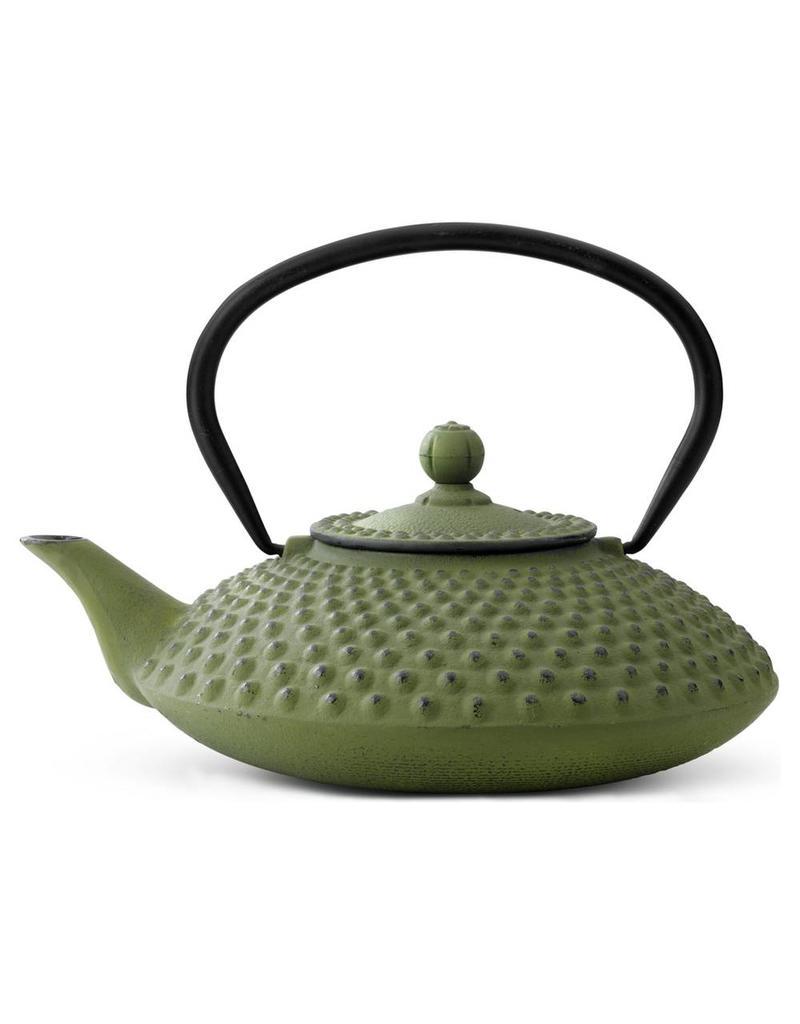 Bredemeijer Gietijzer theepot Xilin 1,25 groen