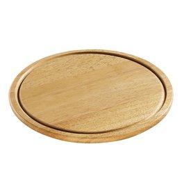 Zassenhaus Ontbijt plank / Steakplank rubberwood 30 cm