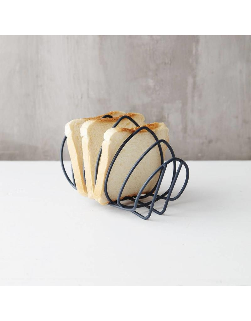 Point Virgule Point Virgule toast/servetten rek grijszwart