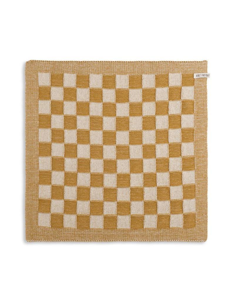 Knit Factory Keukendoek ecru/oker