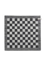 Knit Factory Keukendoek ecru/zwart