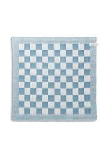 Knit Factory Keukendoek ecru/ocean