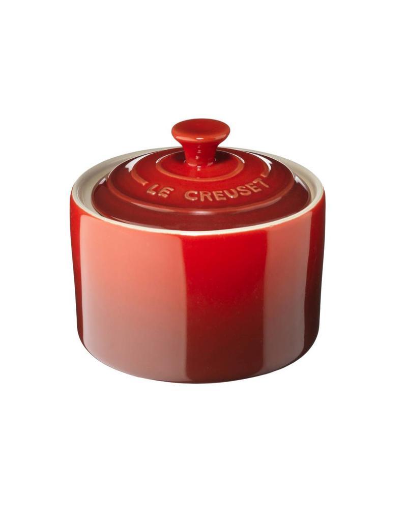 Le Creuset Le Creuset Suikerpot met deksel 8 cm Cerise - Rood