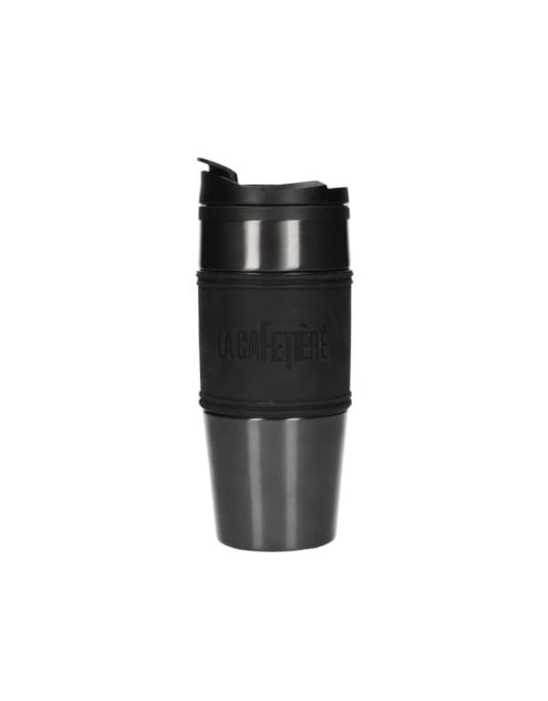 La Cafetière Travel mug rvs 450ml Metal Grey