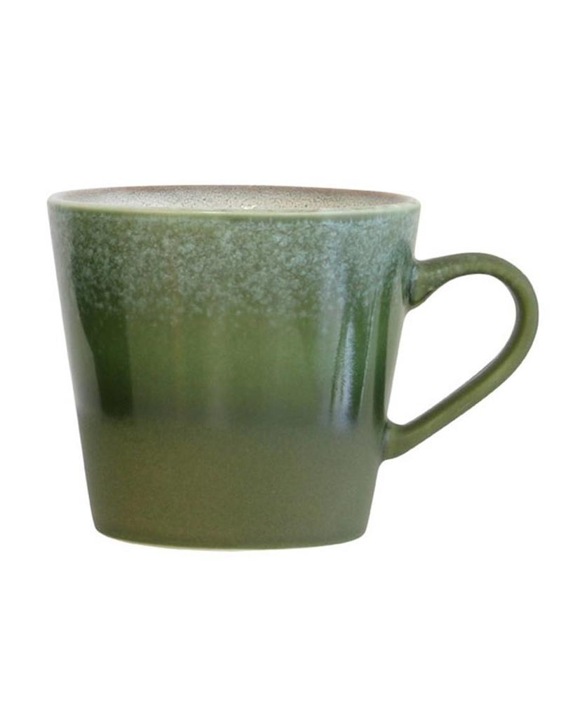 "HK Living 70's Cappuccino beker ""Grass"" HK Living"