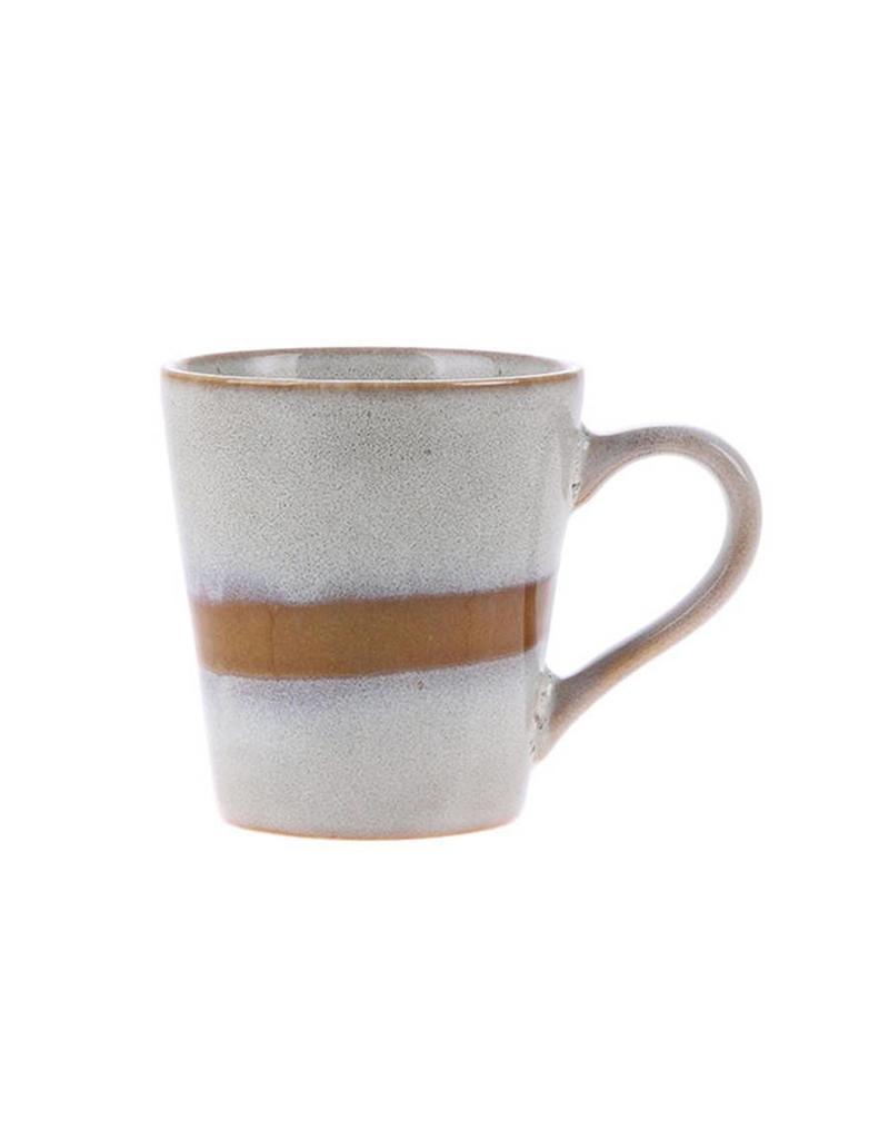"HK Living 70's Espresso kopje ""Snow"" HK Living"
