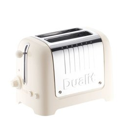 Dualit DUALIT Lite Toaster 2 slots canvas white