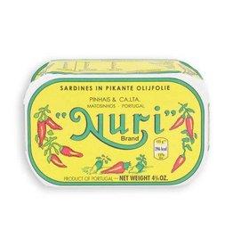 Nuri Nuri Sardines in pikante olijfolie