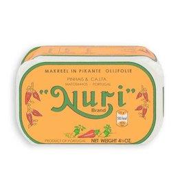 Nuri Nuri Makreel in pikante olijfolie