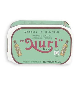 Nuri Nuri Makreel in olijfolie