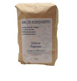 Milano Espresso kilo