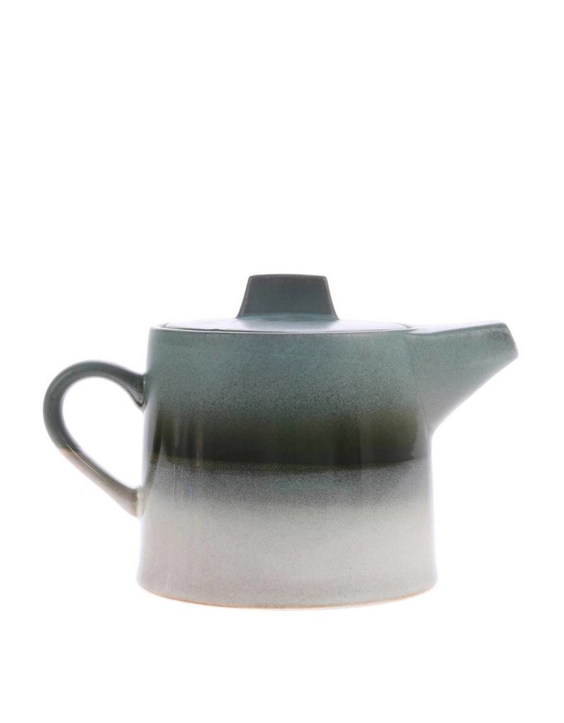 HK Living Ceramic 70's Theepot Glacier