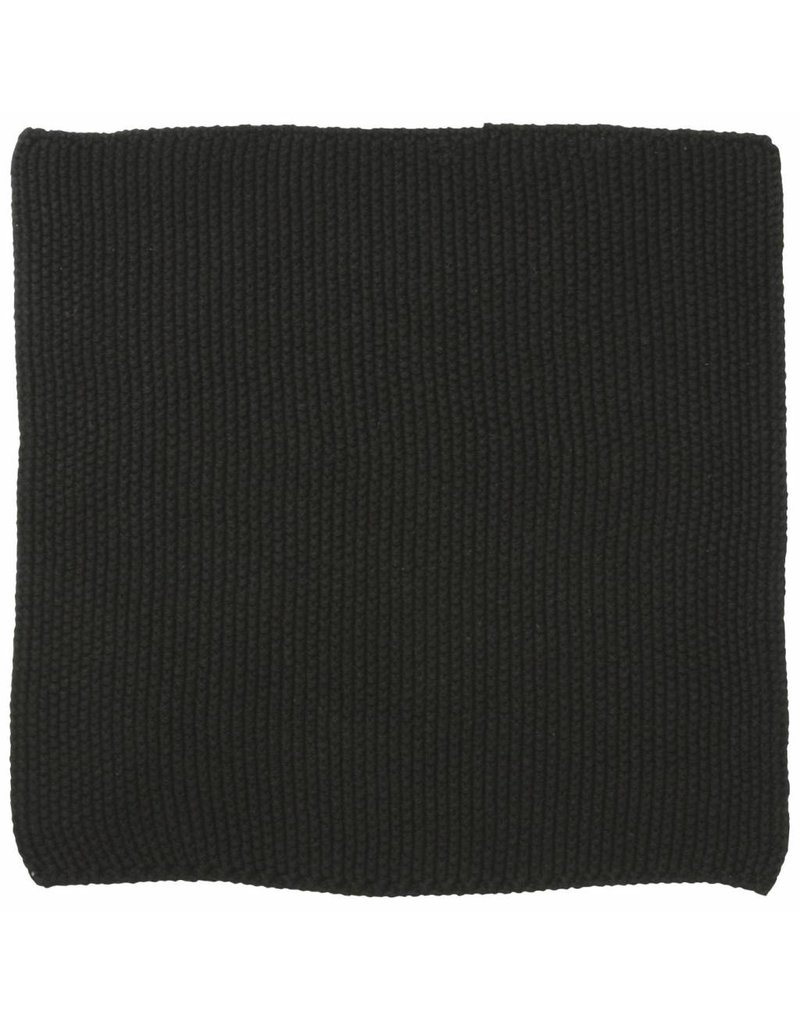 IB Laursen Aanrechtdoekje Mynte Pure Black gebreid