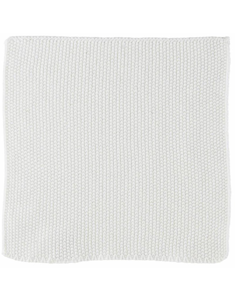 IB Laursen Aanrechtdoekje Mynte Pure White gebreid