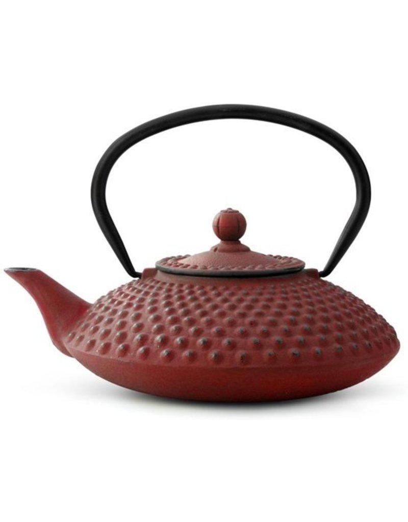 Bredemeijer Gietijzer theepot Xilin 1,25 rood