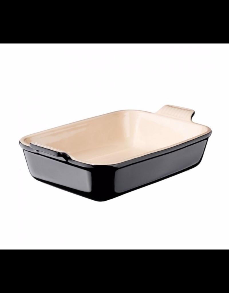 Le Creuset Rechthoekige Ovenschotel Zwart 19 x 26 cm