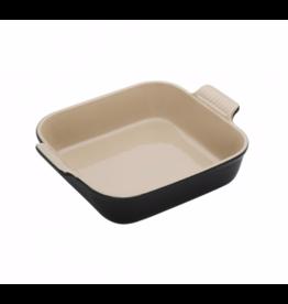 Le Creuset Vierkante Ovenschotel Ebbenzwart 23 cm