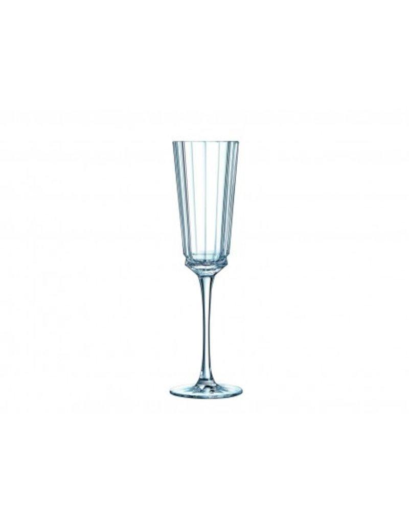 Cristal d'Arques  Macassar Champagneglas 17 cl