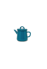 Emaille theepot nr2 Turquoise