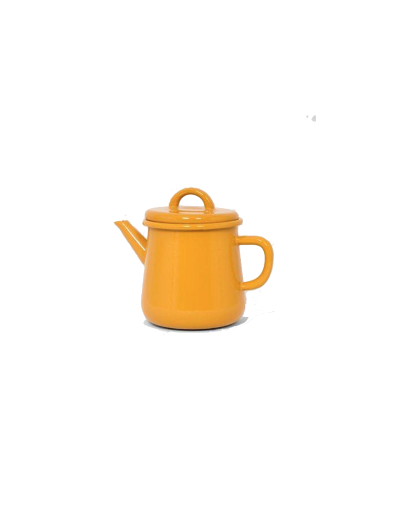 Emaille theepot nr2 Oker