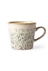 "HK Living 70's Cappuccino beker ""Hail"" HK Living"