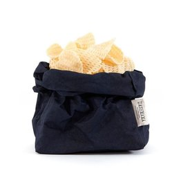 Uashmama Paperbag L Donkerblauw