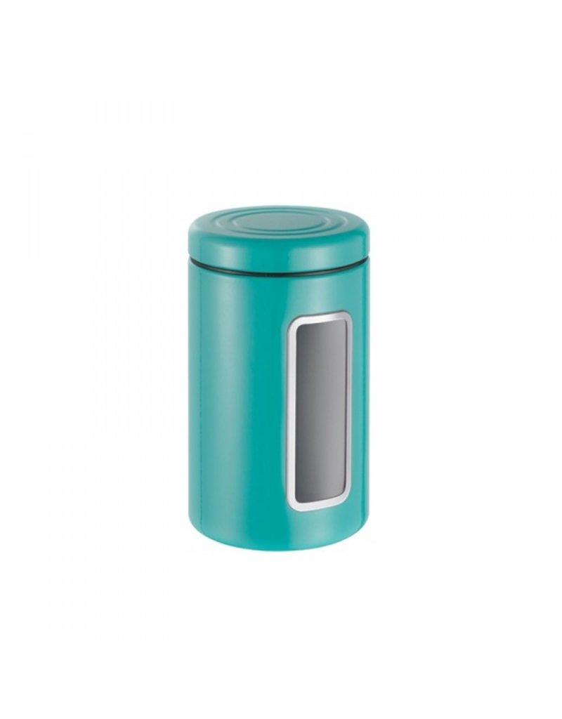 Wesco Wesco Voorraadbus Turquoise met venster