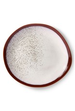 "HK Living 70's Diner Plate ""Frost"" HK Living"