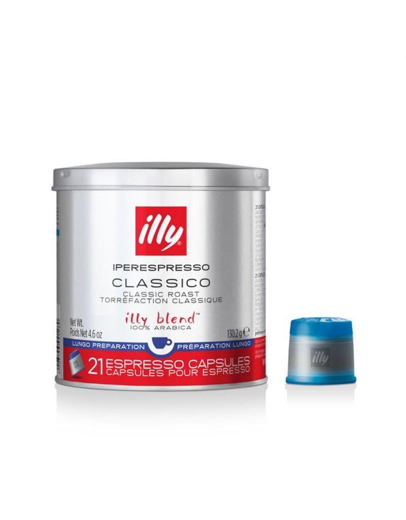 Illy Iperespresso koffiecapsules Classico - Lungo blauw